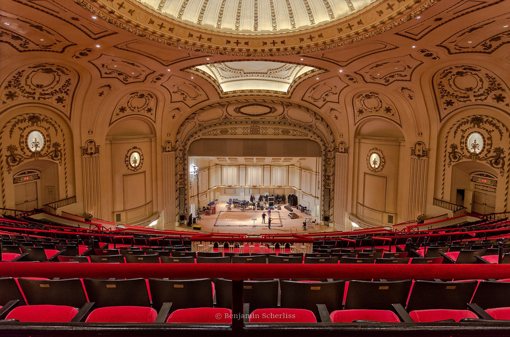 One of the gorgeous views inside Powell Hall
