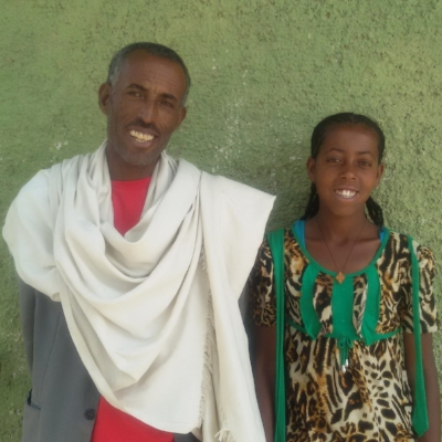 Meet Mileat. imagine1day taught Mileat's father how to breed cows and helped improve his faming efficiencies so that his daughter can spend less time working and more time at school. Mileat prides herself in her loyalty and honesty.Her favourite subject is English and she holds an impressive average of 90.3%.