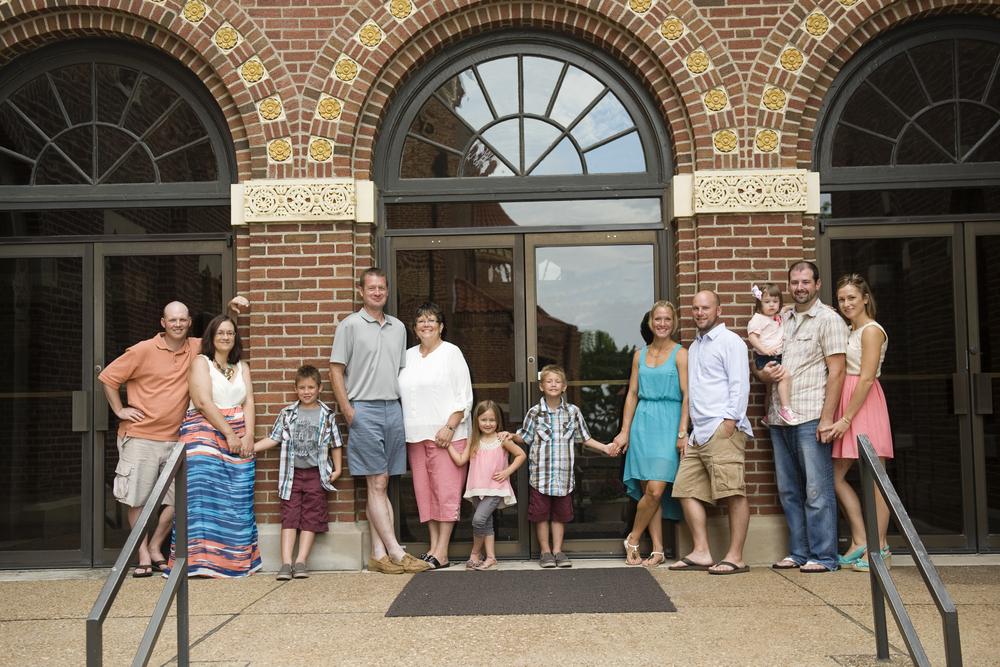 Paul and Paula Gogel & Family.