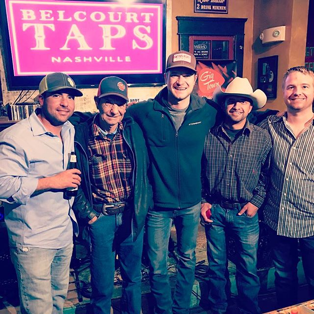 Had a great time with my dad and cousins in #nashville this weekend! #belcourttaps @scottytuck @k._tucker