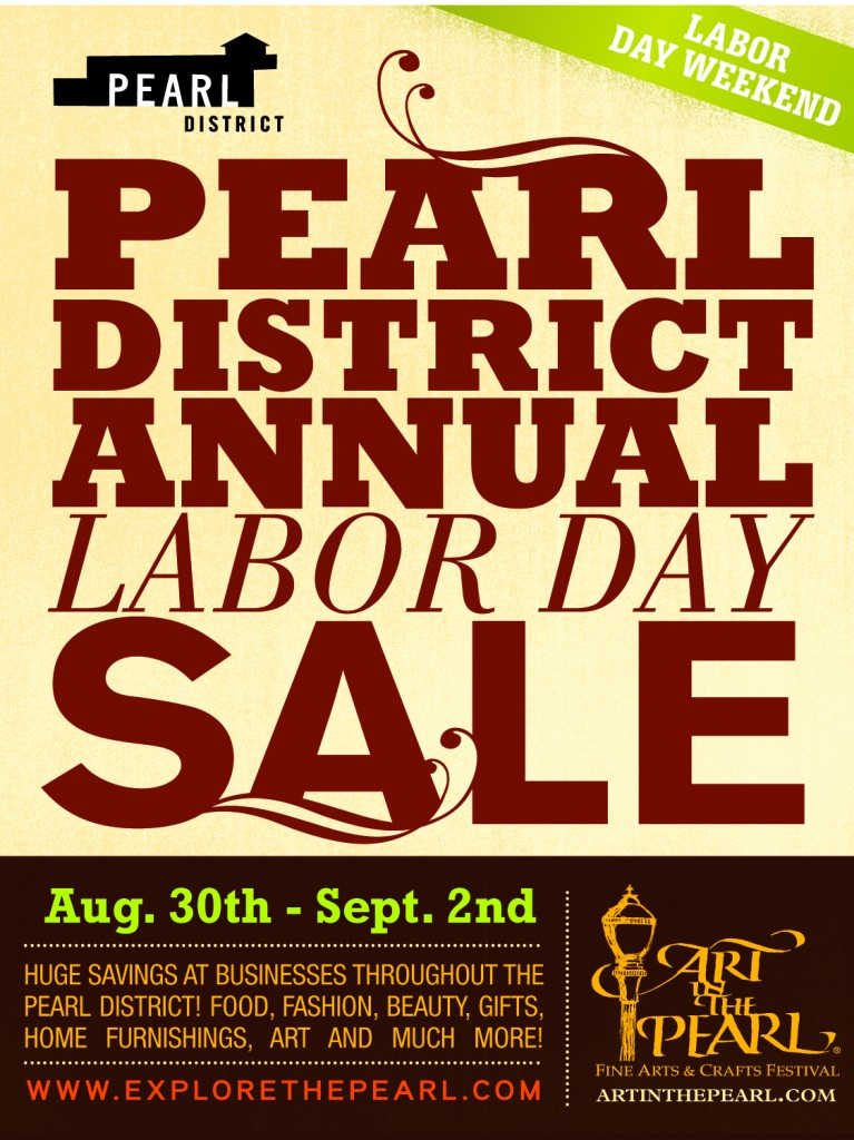 PDBA Labor Day SALE