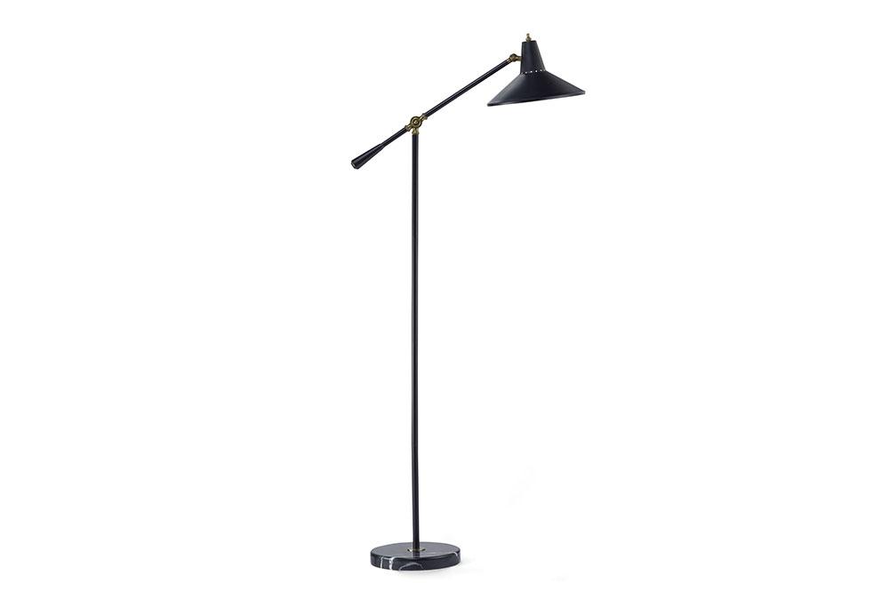 "FLOOR LAMP 566   W26.5-29"" / H52-59"""