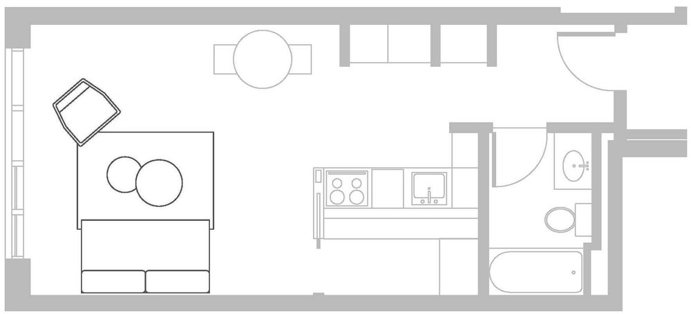 FLOOR PLAN FOR ILLUSTRATION PURPOSES
