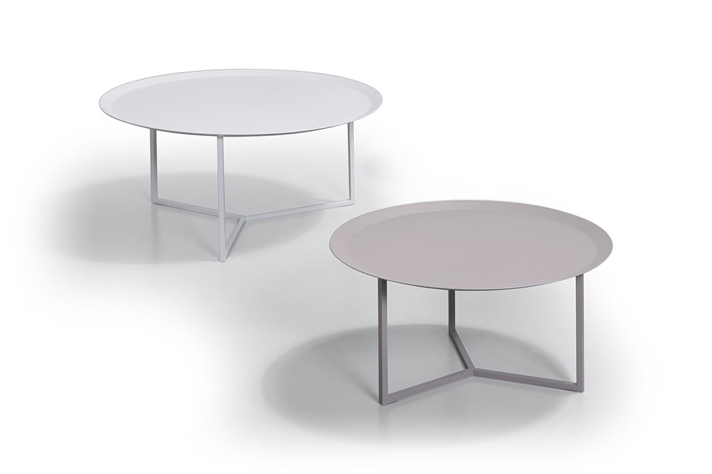 "COFFEE TABLE 4023+ 4024 Ø28.75"" + Ø28.75"" / H11.75"" or H14.25"" or 16.75"""