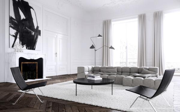 Interior design by  Jessica Vedel