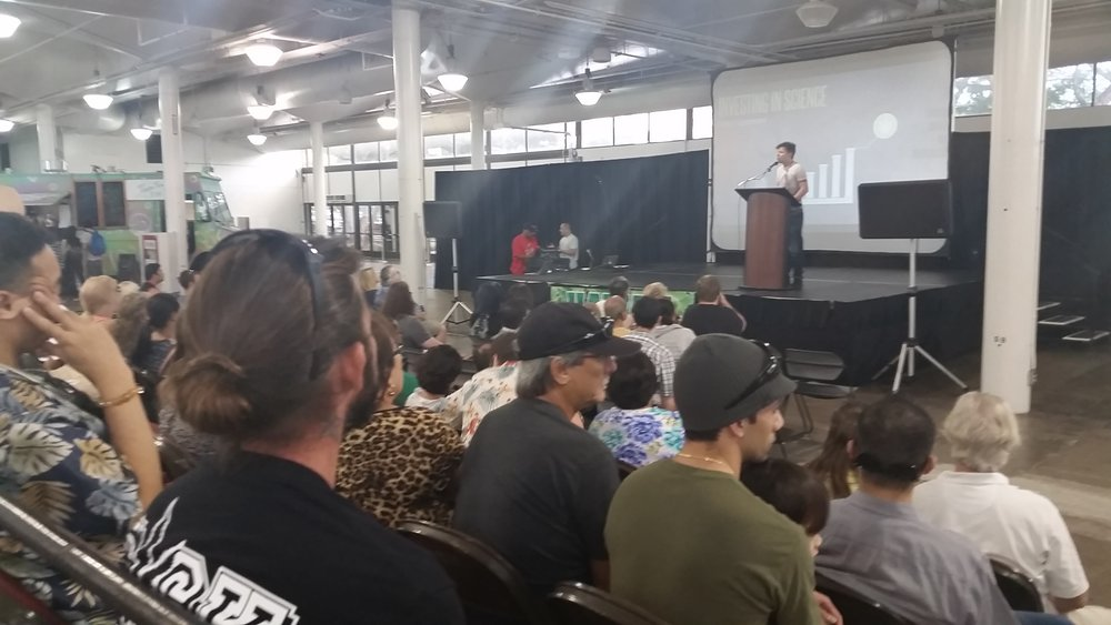 Free education Seminar at the 2016 Hawaii Cannabis Expo