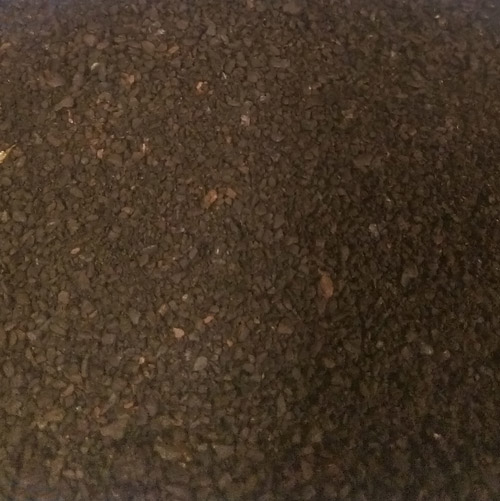 Fresh ground coffee for Electric Percolator, medium grind Dark Roast