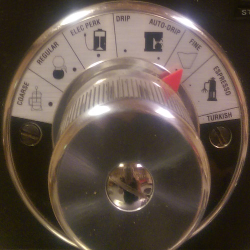 Manual Drip Coffee Grinder Settings for fine grind coffee