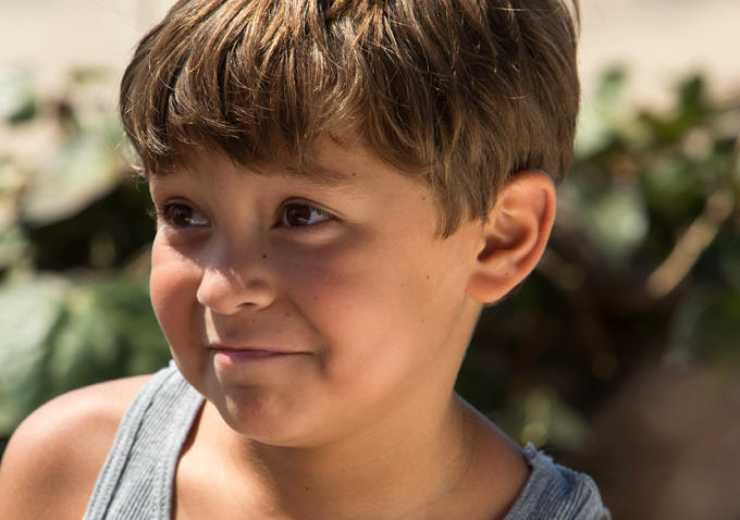 Pierce Gagnon is the perfect reference for the role of Miles.