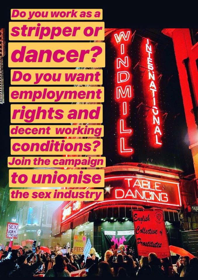 JOIN UVW to STAND WITH SEX WORKERS — click to become a union member -