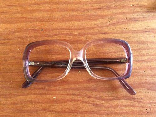 Shuron Purple Plastic Frames - 135 — New Eyes