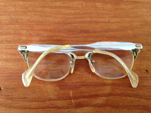 1d45735b9f11 Gold Cat s Eye Frames - 378