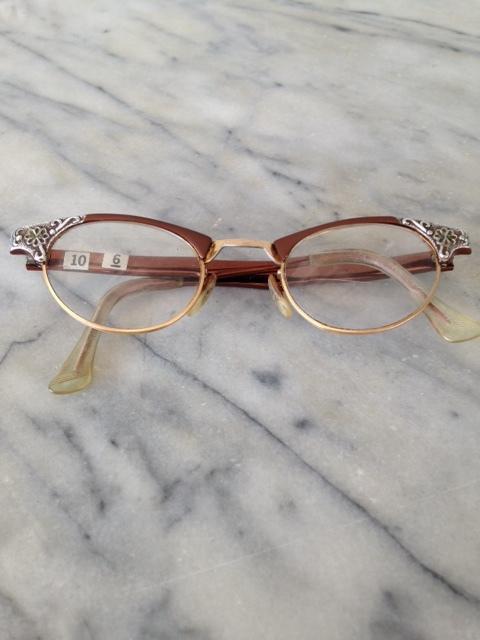 2e54b33a733 Alum Bronze Eye Glasses Vintage frames - 478 — New Eyes