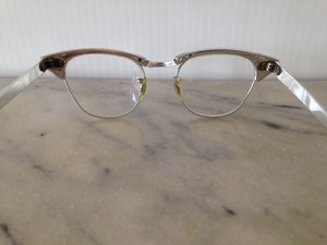 0997849a490 Alum Silver Cat-Eye Frames with Etched Details - 482 — New Eyes