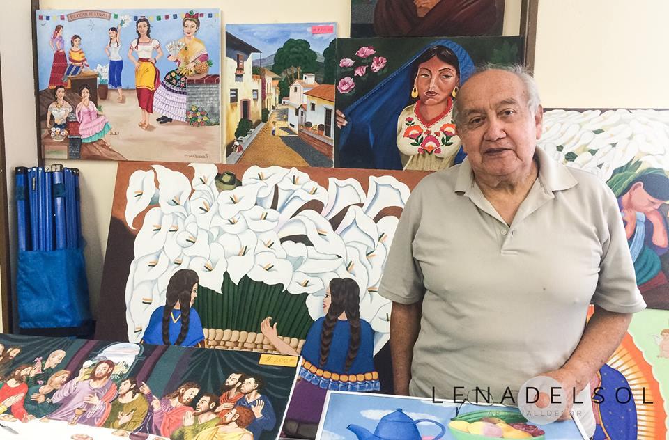 Artist Cesar Rosales