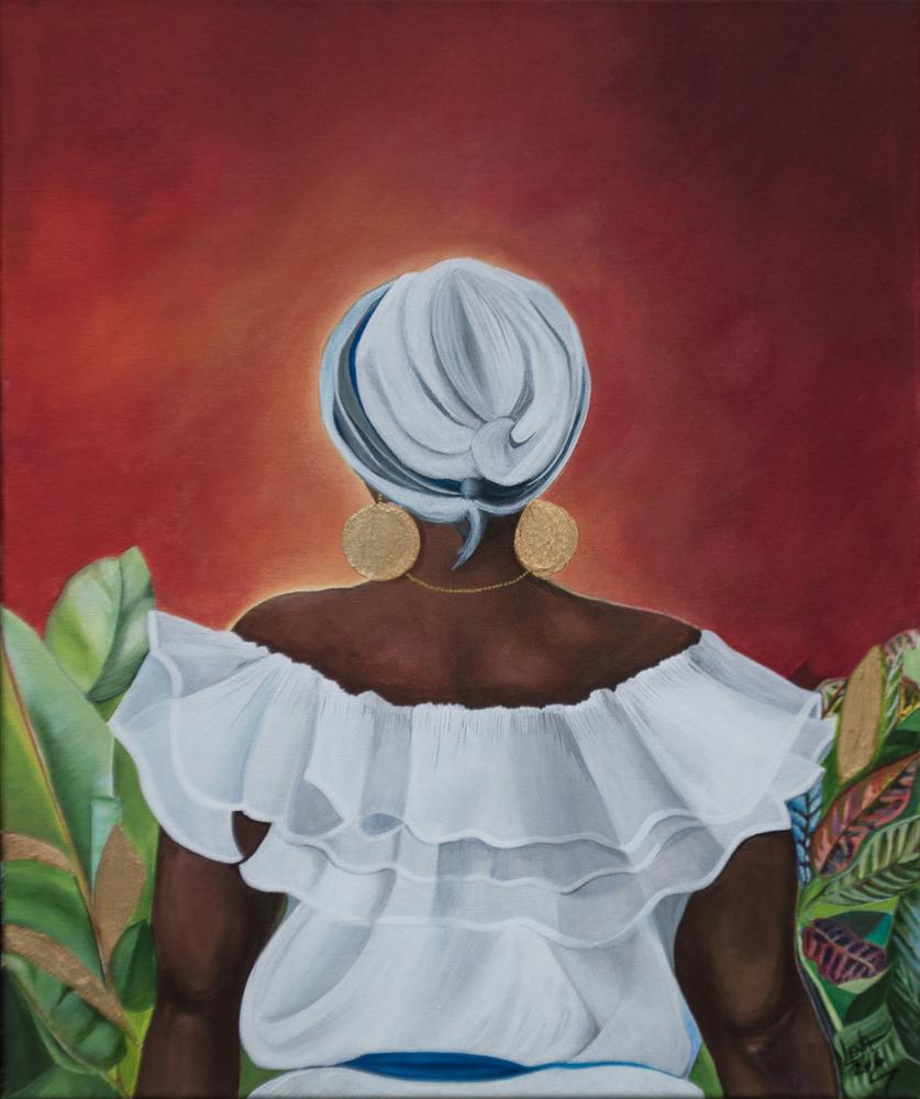 """Filomena"" - Puerto Rican Art by Lena del Sol"