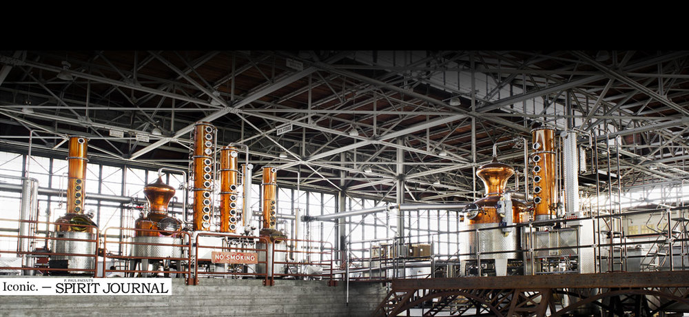 Straight from their website, an impressive shot inside the distillery
