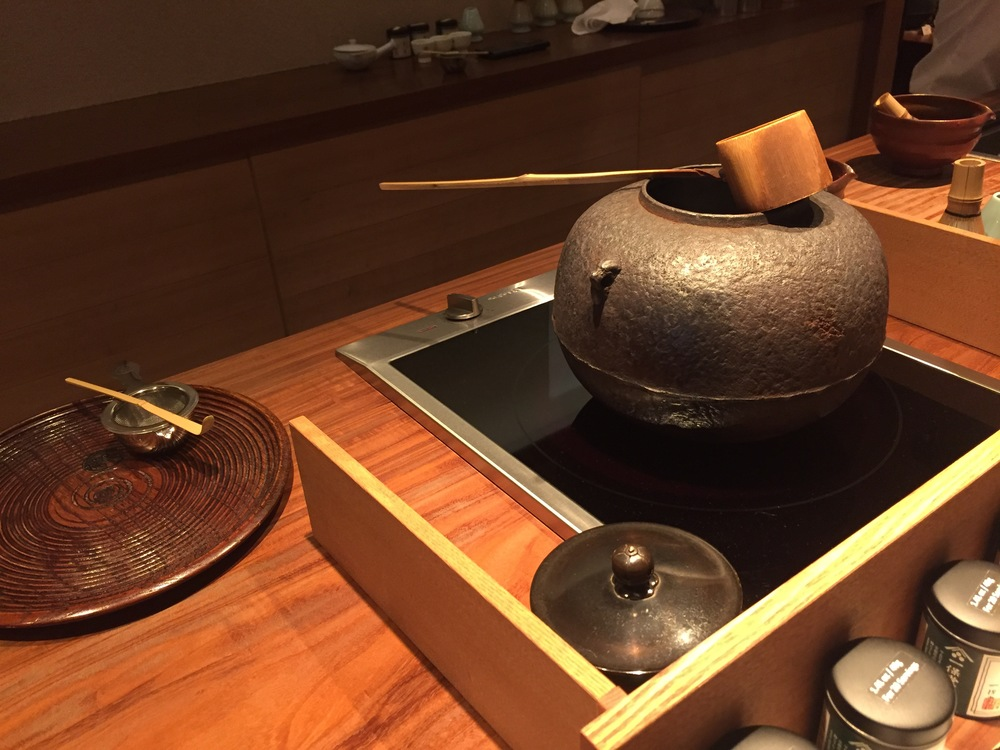 Honestly, neither you or me are likely to really know what is in that pot thing with the wood scooper... but that probably makes us both want it that much more. Welcome to Ippodo