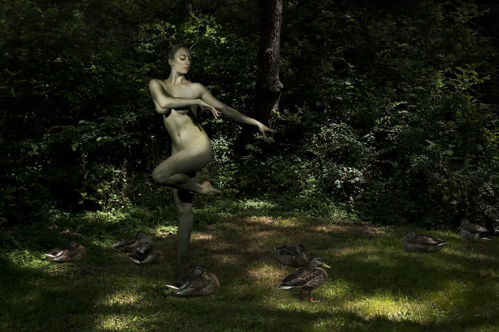 Horned Goddess of the Forest, Giving Life