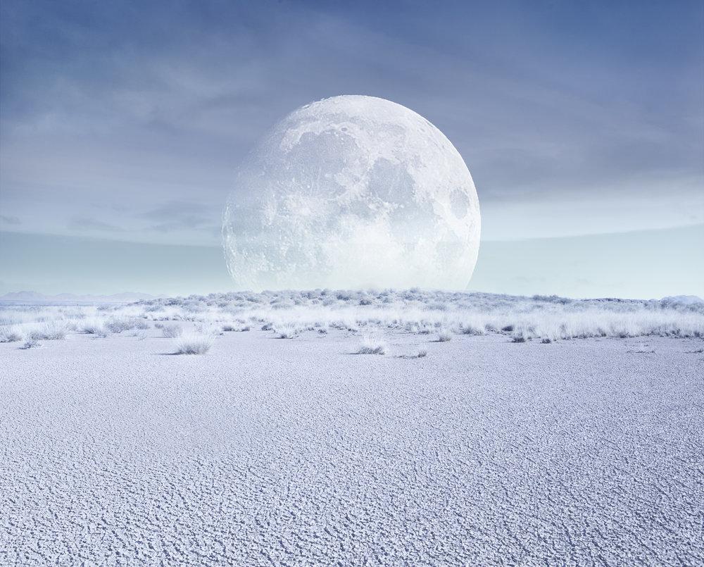Desert Moon, Full Daylight