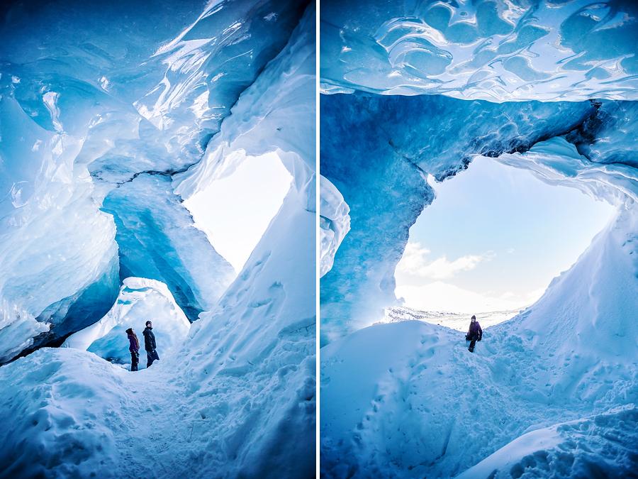 Jasper National Park Ice Cave