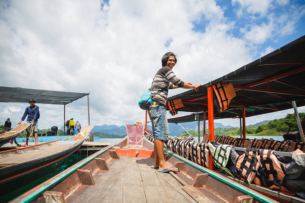 One of our guides…really, I think he was our 'driver' as he didn't speak English and mostly manned the boat.