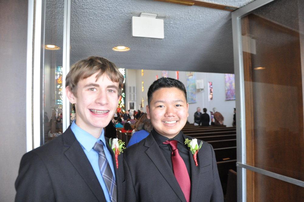 Brendan & Nicholas MLK