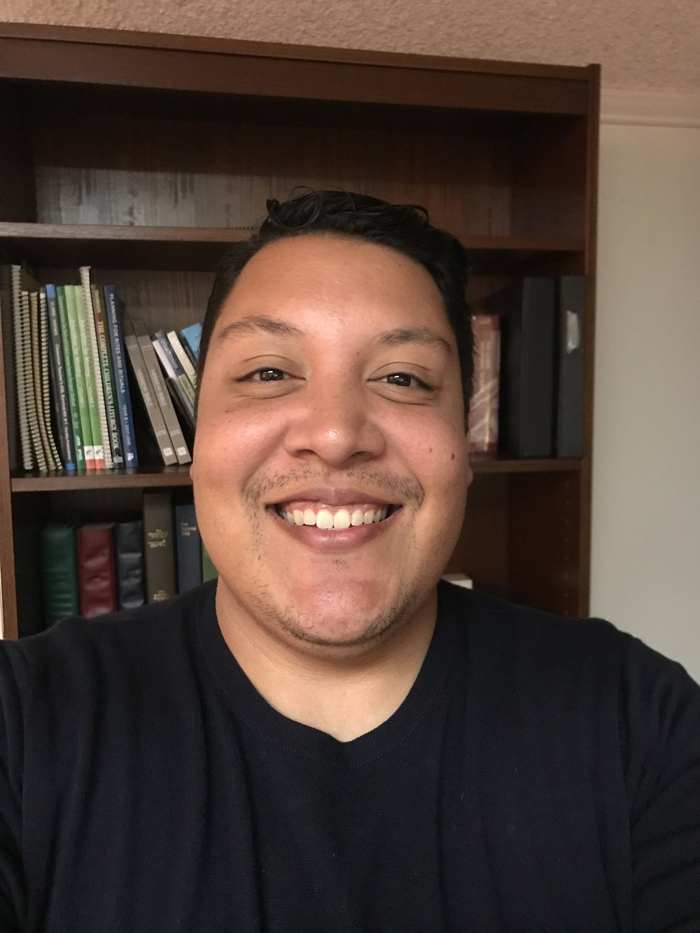 Gabriel Vazquez-Reyes, Youth & Family Minister