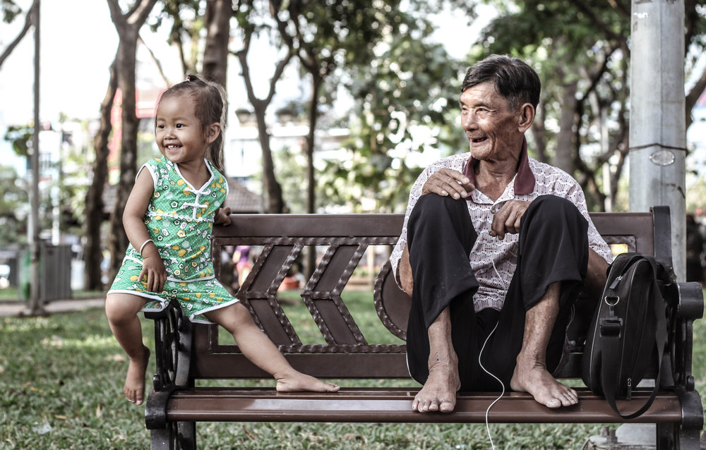 Sunday Smiles, Ho Chi Minh