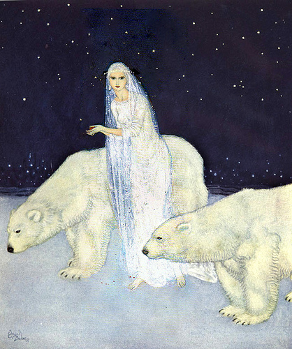 Ice Maiden - The Dreamer of Dreams (1915) by Edmund Dulac