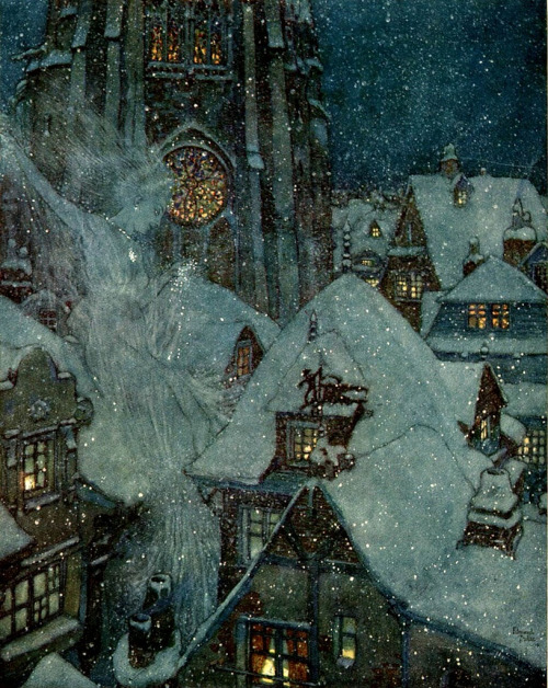 Edmund Dulac, The Snow Queen
