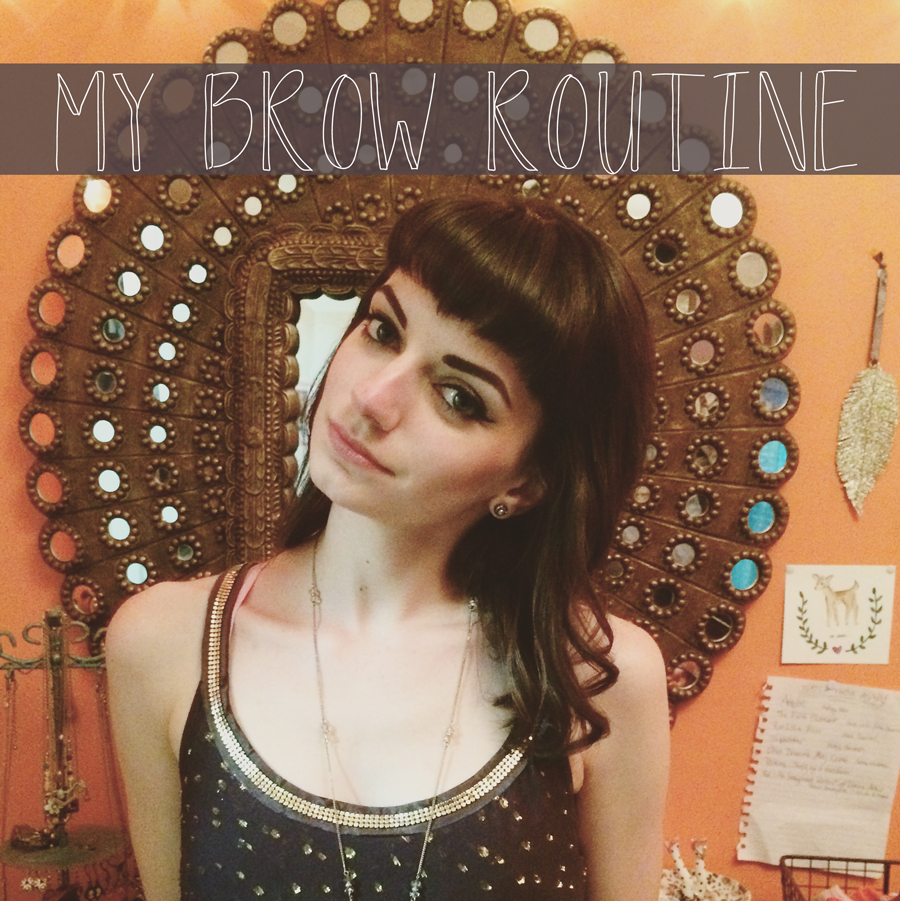 my-brow-routine