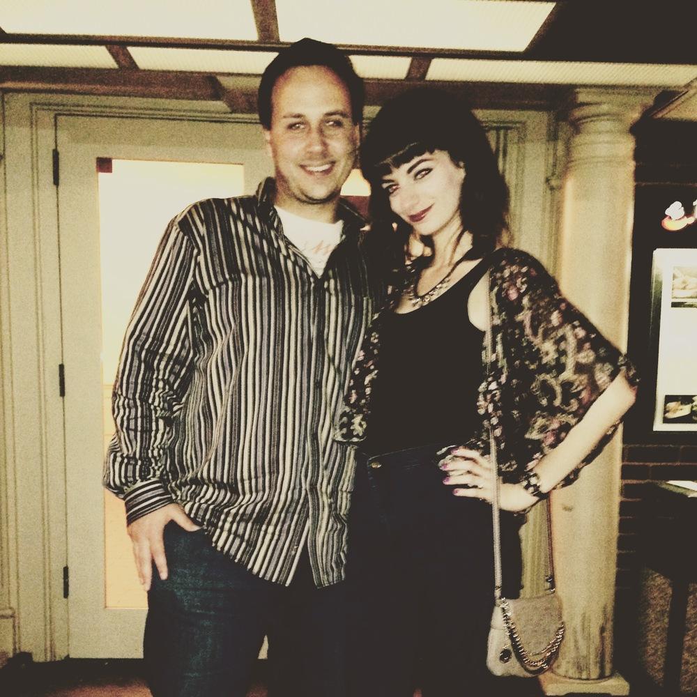 Chris & me.