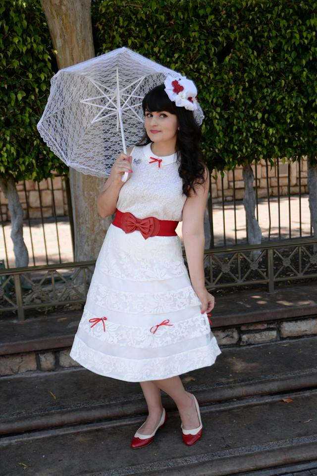 Melanie as Mary Poppins