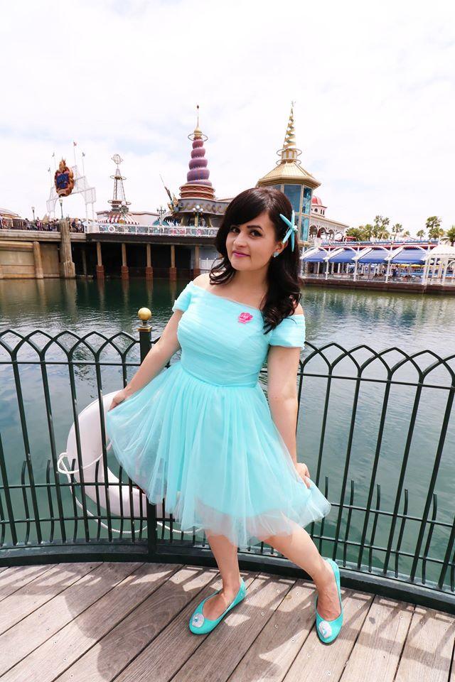 Melanie as Ariel
