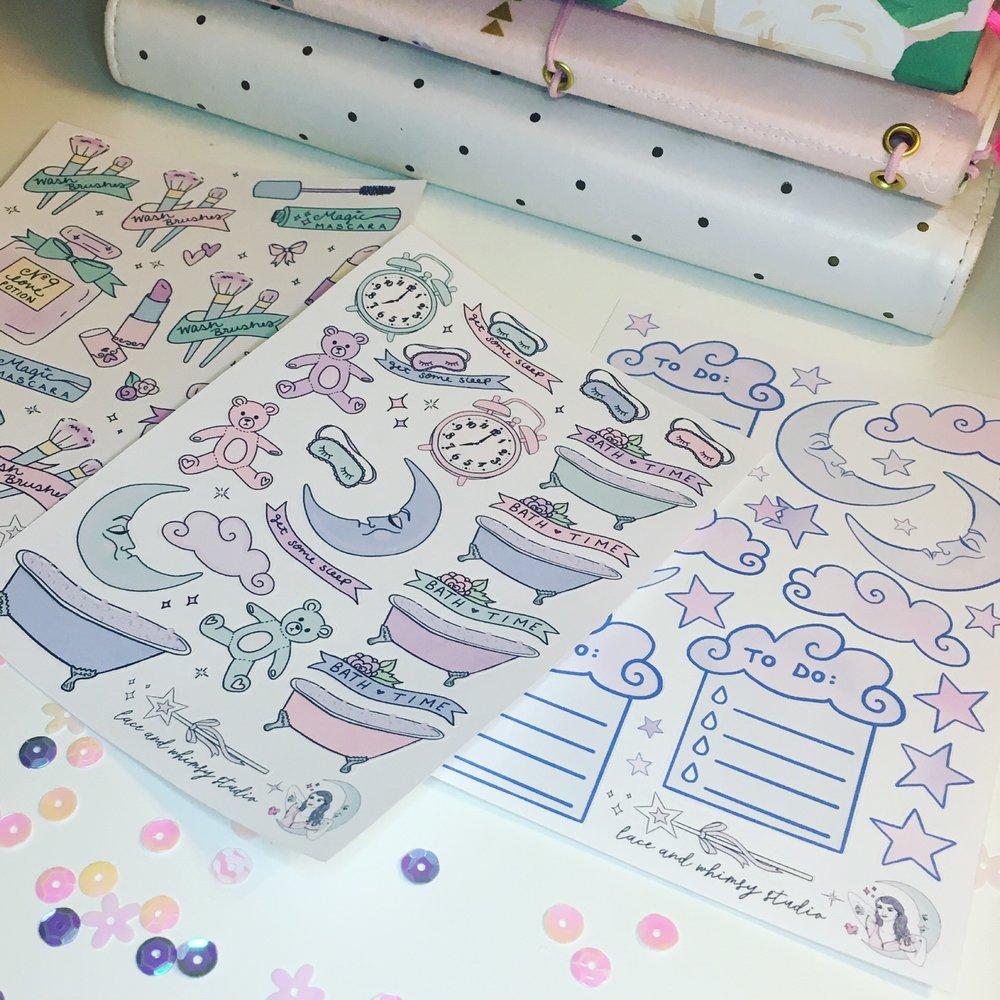 Sticker Sheets -