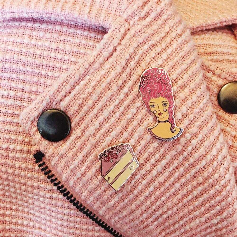 ENAMEL PINS -