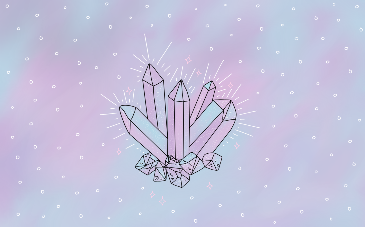 Free Crystal Desktop Wallpaper Download Lace Whimsy