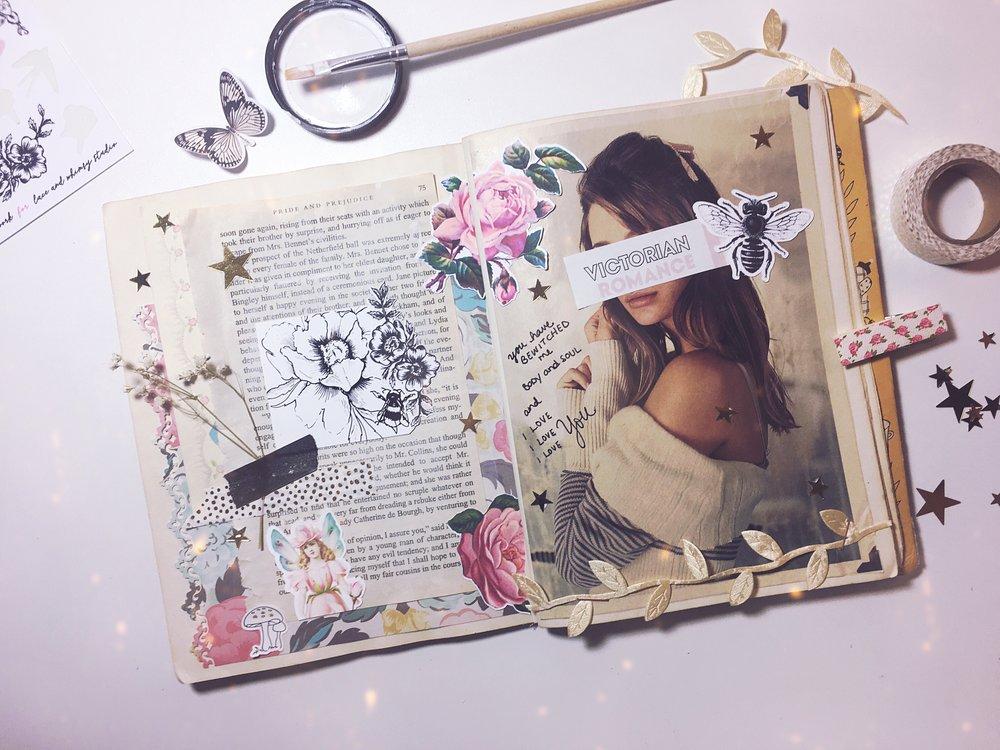 Inside My Art Journal, No. 1 - on the blog