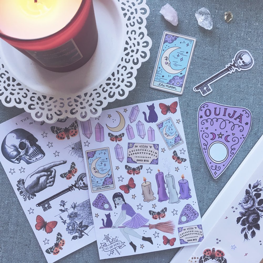 hallowhimsy-laceandwhimsy-whimsybox-stationery-subscription-box-stickers