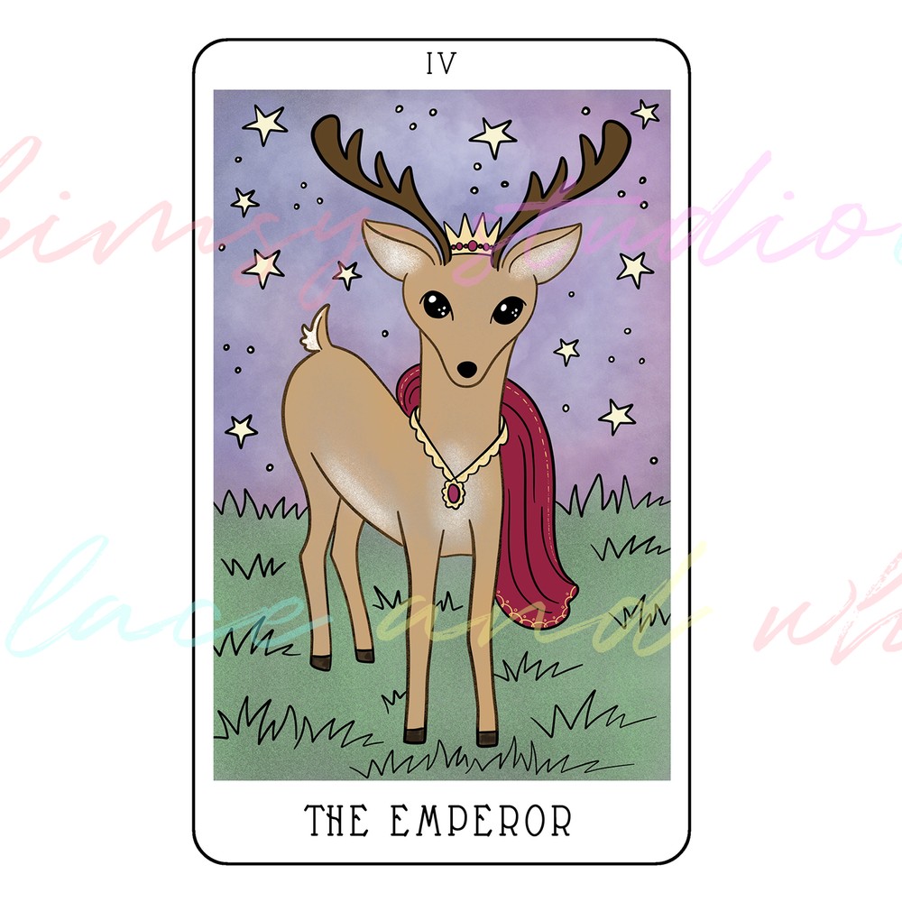 tarot-cards-illustration-series-2018-laceandwhimsy-kathy-d-clark-The-Emperor.png