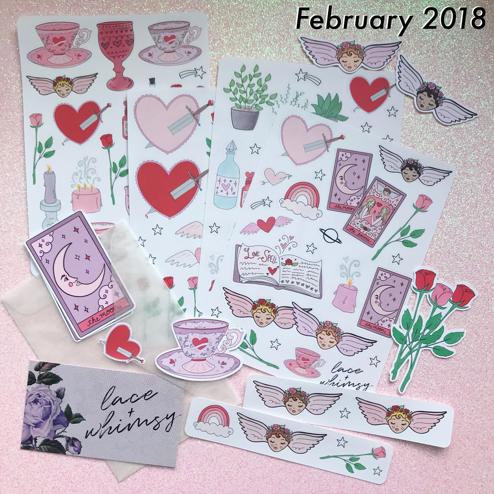 whimsymail - the latest goodies. delivered monthly.