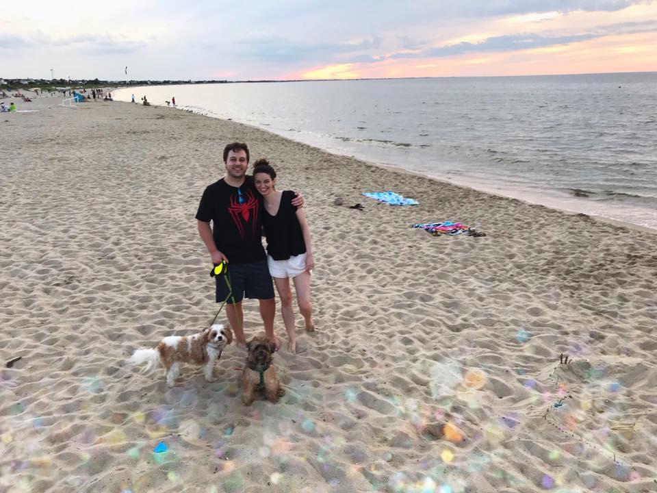 chris-kathy-charlie-daisy-lewes-beach-delaware