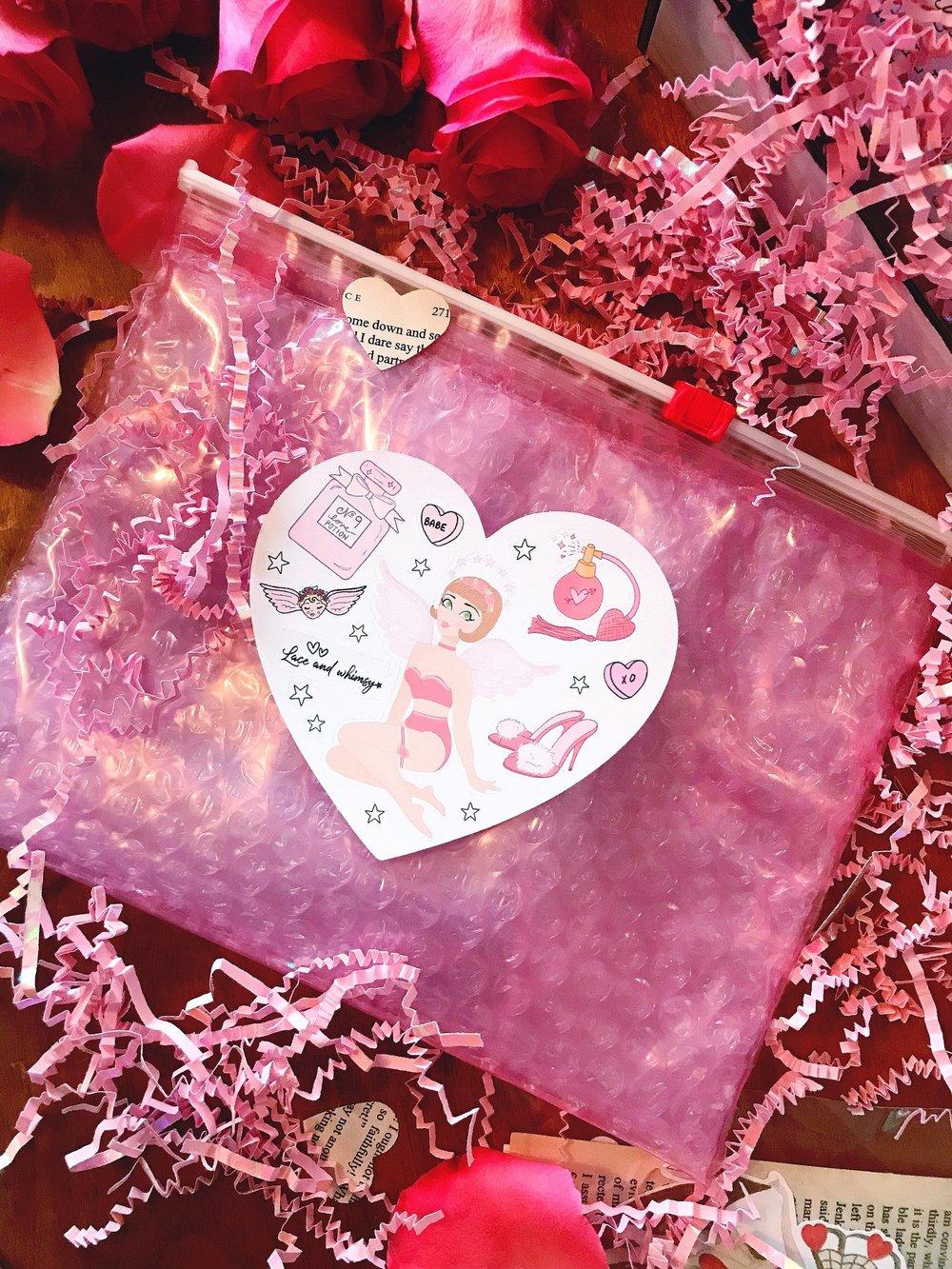 Follies of Love 01 Sticker Sheet