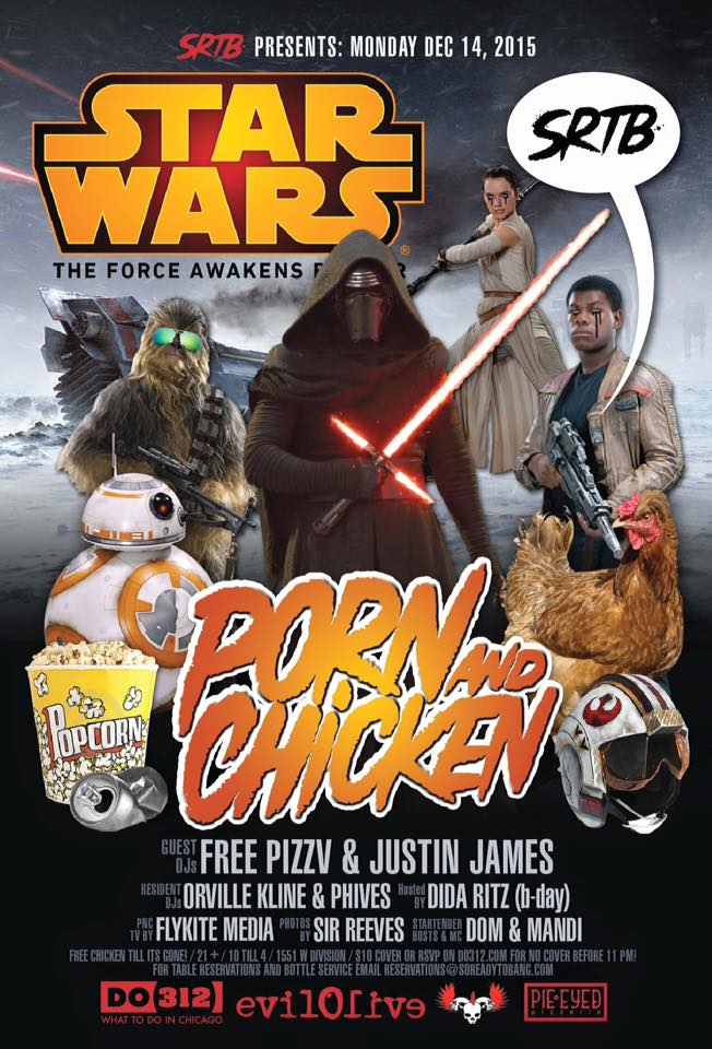 Porn and Chicken Dancy Party: Star Wars The Force Awakens Banger