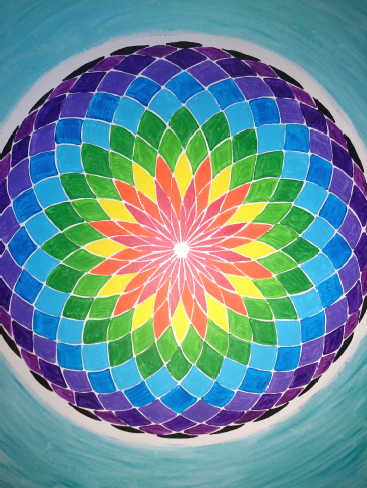 Empowering Sacred Geometry With Colour
