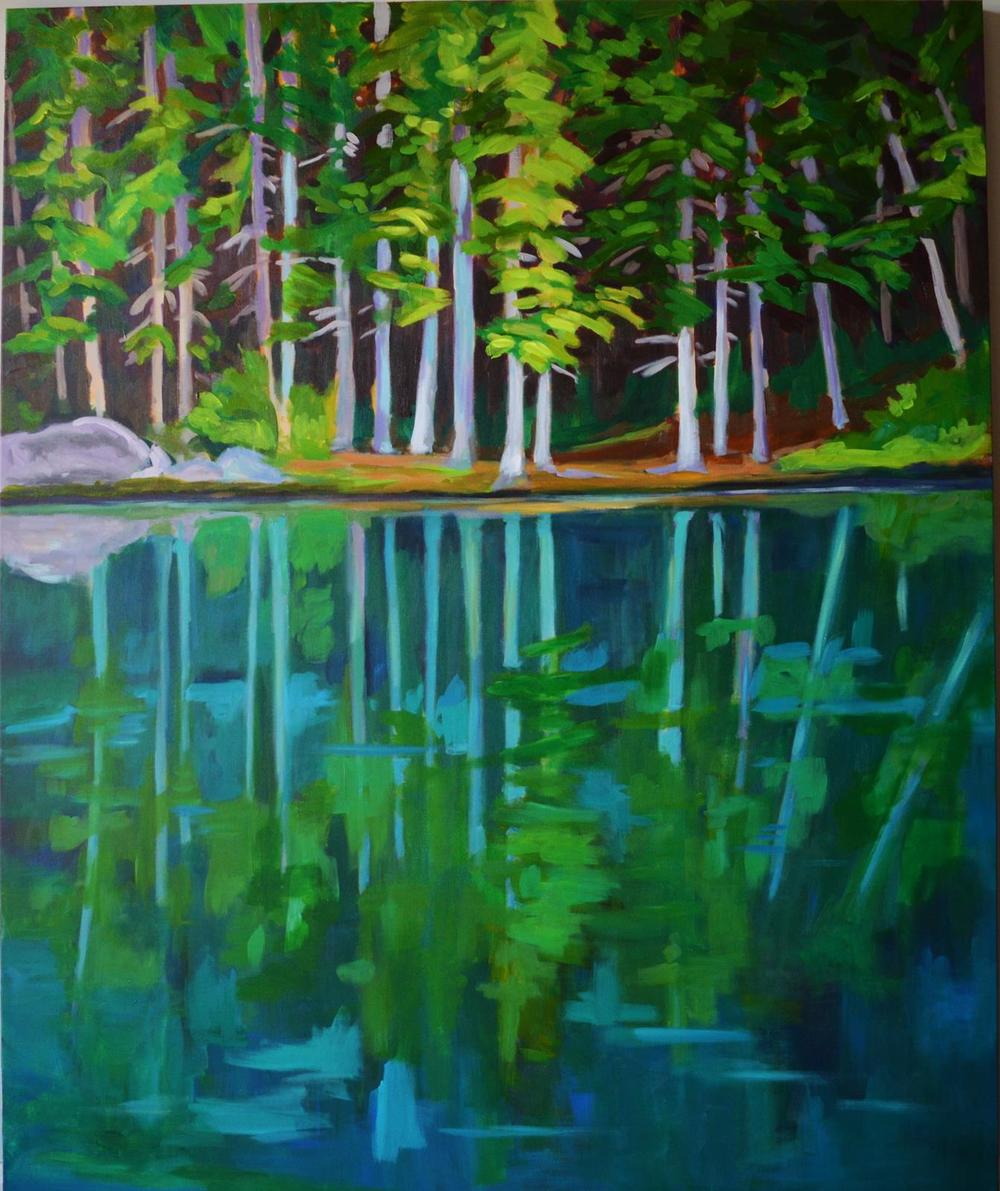 Pond Colours, 60 x 48 inches.JPG