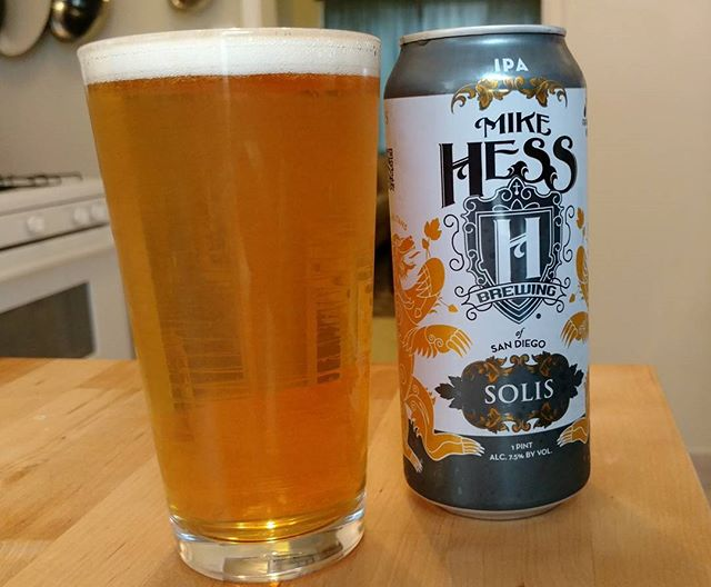 So damn good. #mikehess #mikehessbrewing #solisoccasus #ipa #sandiegocraftbeer #craftbeer
