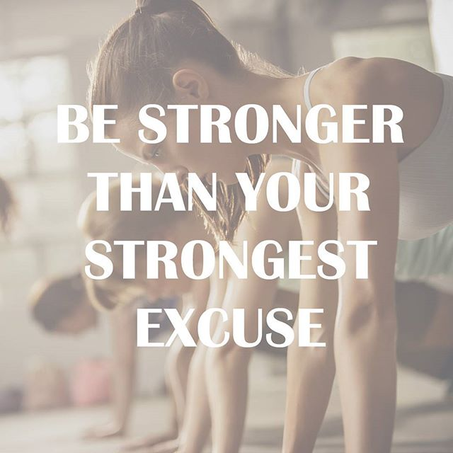 #mondaymotivation #noexcuses 💪