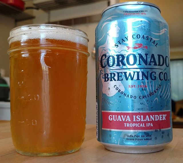 I'll drink anything if you tell me there's #guava in there. #guavafiend #coronadobrewing #guavaislander #IPA #sandiego #sandiegocraftbeer